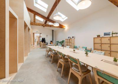 open-space espace de coworking Ouest Lyonnais