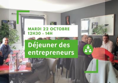 Déjeuner des entrepreneurs / Octobre
