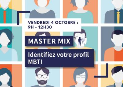 MASTER MIX : Identifiez votre profil MBTI
