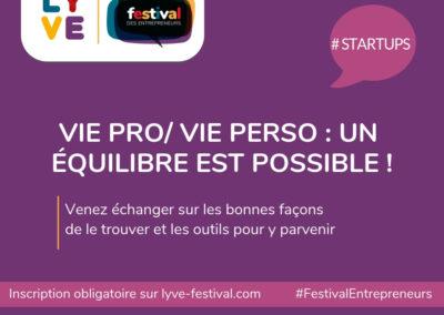 Festival des entrepreneurs / 20 & 21 mars
