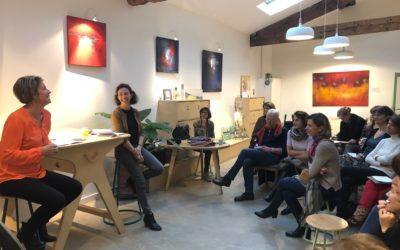 """""""Comment libérer sa créativité et se réinventer ?"""" Conférence de Séverine André et Valérie Bogaert sur la créativité"""