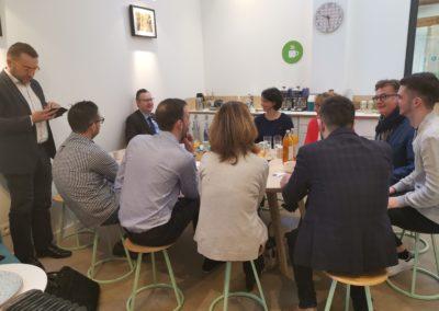 Petit-déjeuner d'accueil des nouveaux entrepreneurs de Tassin