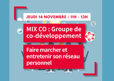MIX CO : Groupe de co-développement