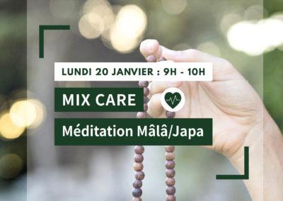 MIX CARE : Méditation Mâlâ/Japa
