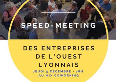 Speed-meeting des entreprises de Tassin et des communes voisines