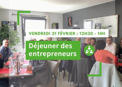 Déjeuner des entrepreneurs – Février