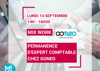 MIX WORK : Permanence d'expert comptable