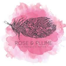 rose et plume