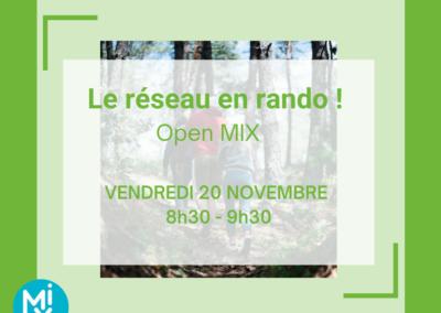 Open MIX : Le réseau en rando !