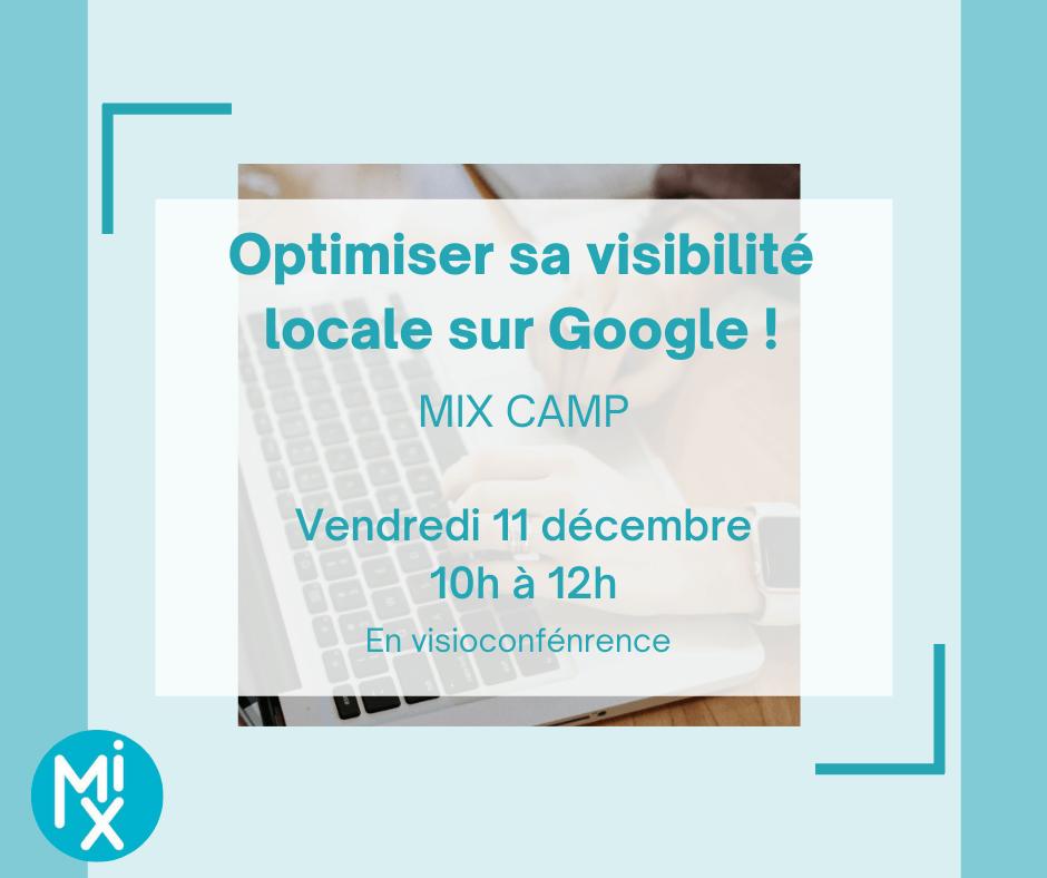 MIX Camp : optimiser sa visibilité sur Google