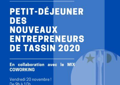 ZOOM Des nouveaux entrepreneurs de Tassin !