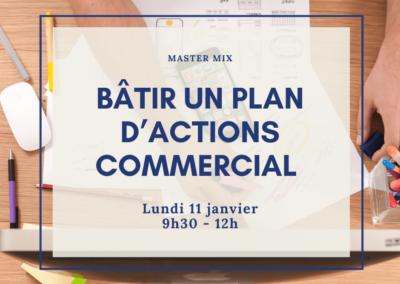 Bâtir un plan d'actions commercial personnalisé