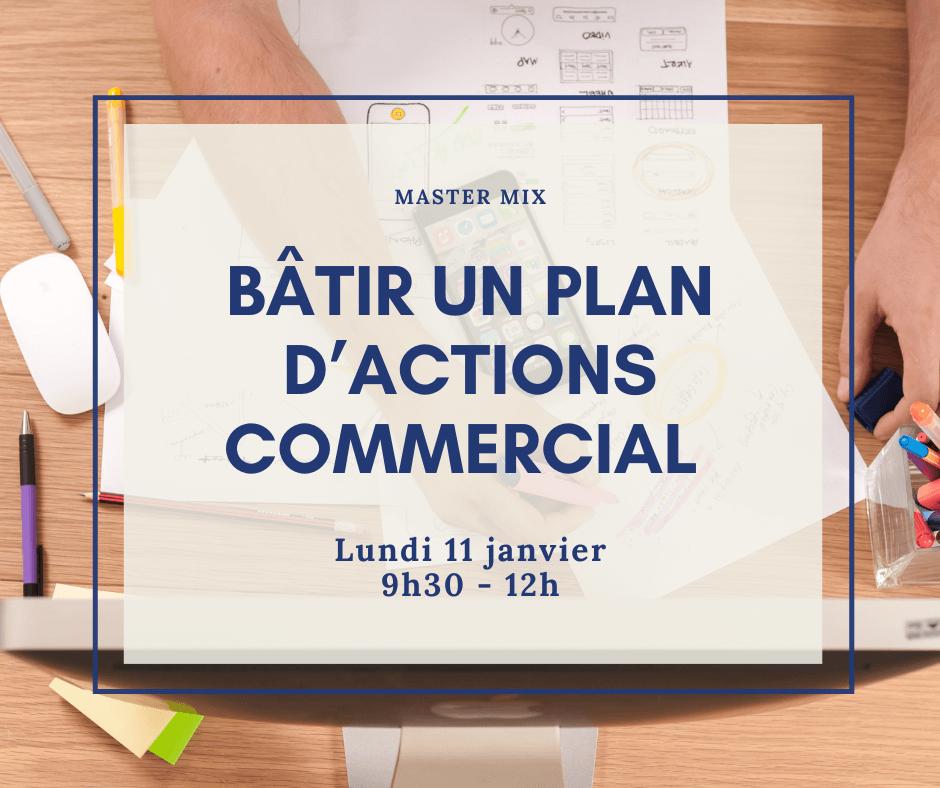 master mix : batir un plan d'actions commercial