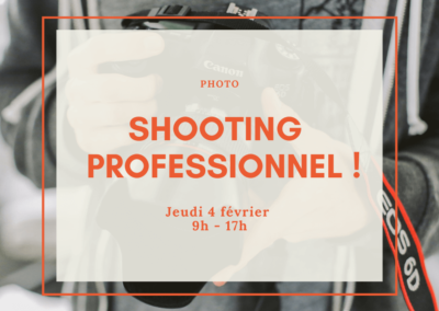 Shooting photo professionnel