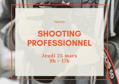 Shooting photo professionnel