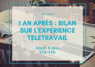 Mix Camp : Le télétravail en entreprise