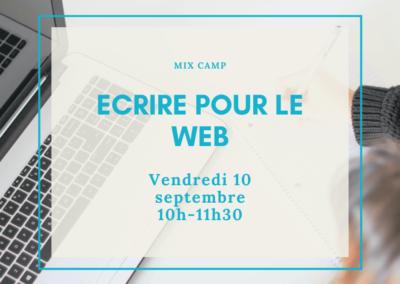 Écrire pour le web : pour son site internet / blog !