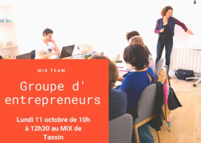 MIX Team : Réunion mensuelle des entrepreneurs
