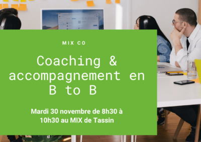 MIX CO : Accompagnement, formation & conseil en B TO B